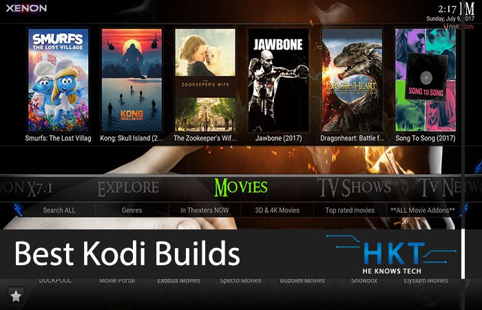 Best Kodi 2019 List of Best Working Kodi Builds for 18 Leia in 2019   HeKnowsTech