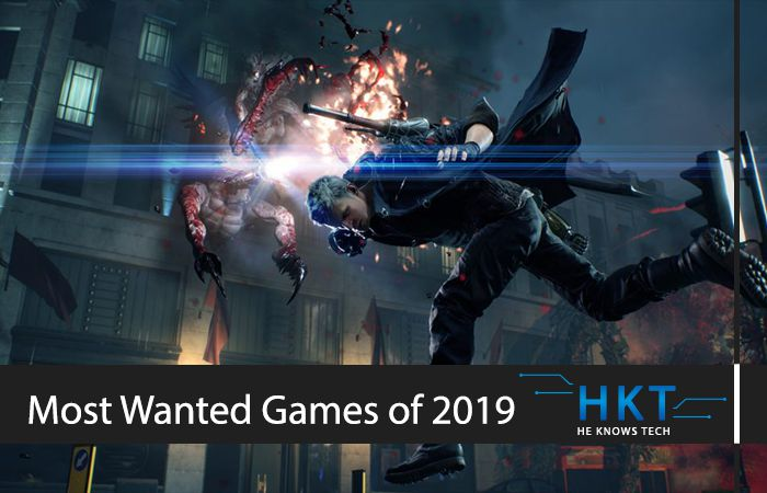 The 5 Most Wanted Games of 2019