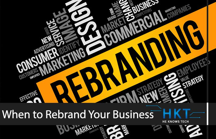 When Is A Good Time To Rebrand Your Business
