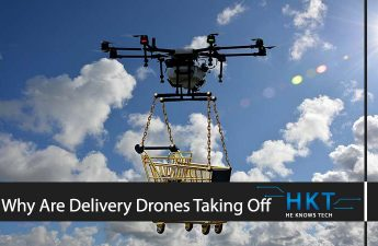 Why Are Delivery Drones Taking Off