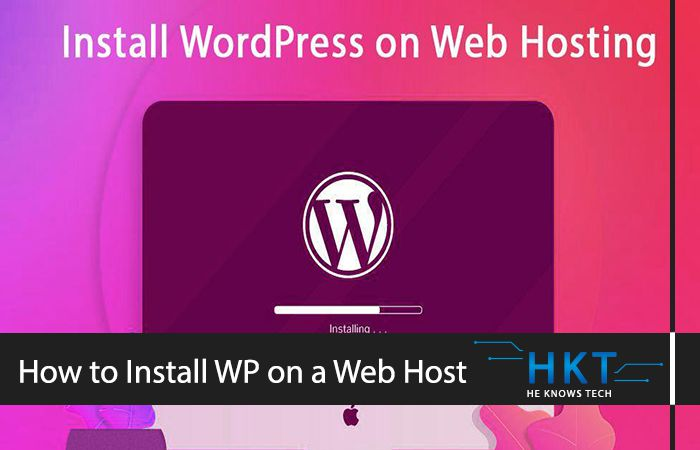Learn How to Install WordPress and its theme on any Web Hosting